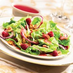 Knott's Raspberry Salad