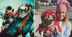 Match: Partner-Kostüme für Tier und Besitzer! #News #Fashion