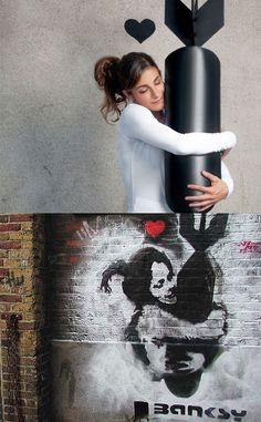 Nick Stern Works - Real Life Banksy  http://www.extramoeniart.it/il-futurista/guerrilla-dall-arte-al-marketing