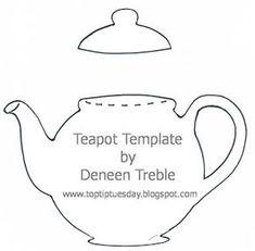 A Path of Paper: Top Tip Tuesday Teapot Card & Tutorial Paper Tea Cups, Teapot Cake, Card Sentiments, Card Templates, Applique Templates, Templates Printable Free, Card Tutorials, Woodburning, Tea Pots