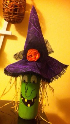 Witch wine bottle on Etsy, $15.00