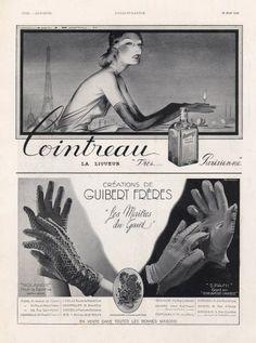 Cointreau 1938 Jean Adrien Mercier