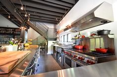 Industrial Kitchen Design Ideas, Pictures, Remodel and Decor