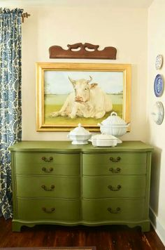 Mustard Seed milk paint - Boxwood