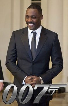 Idris Elba as James Bond? Granted, Daniel Craig still has two movies left on his contract, but in the off-chance he bails early, Bond movie producer B. Idris Elba, My Black Is Beautiful, Gorgeous Men, James Bond, Better Half, How To Look Better, Black Actors, Black Celebrities, Movie Producers