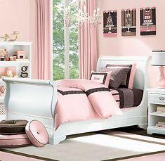 Peach Pink Bedroom