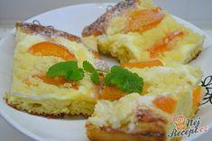 Kynutý koláč s tvarohem, meruňkami a drobenkou | NejRecept.cz