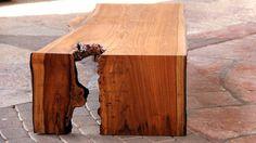 """Table basse """"Y"""" Noyer / Walnut 170 x 75 x h 38 cm"""
