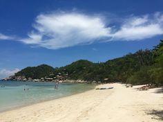 Strand am Shark Bay auf Koh Tao in Thailand.