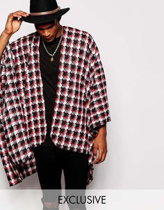 Time to look great with this  Reclaimed Vintage Houndstooth Cape - Black - http://www.fashionshop.net.au/shop/asos/reclaimed-vintage-houndstooth-cape-black/ #ACCESSORIES, #Black, #Cape, #ClothingAccessories, #Houndstooth, #Male, #Mens, #MensAccessoriesOther, #Reclaimed, #ReclaimedVintage, #Vintage #fashion #fashionshop