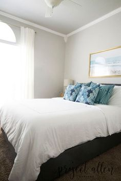 When you have a small bedroom (but want a dramatic makeover):