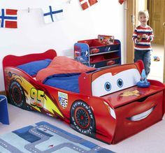beds for boys on pinterest tractor bed car bed and kid beds. Black Bedroom Furniture Sets. Home Design Ideas