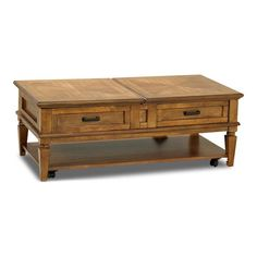 Concord Coffee Table in Oak | Nebraska Furniture Mart