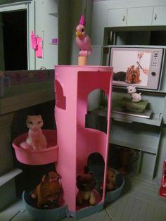 Barbie Pet Center - Commissioned Barbie Art by BargainFancy.