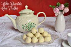 White Chocolate Chai TrufflesReally nice recipes. Every #hashtag