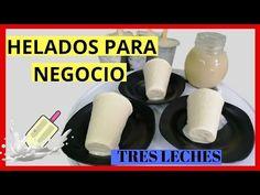 Gelato Ice Cream, Latin Food, Popsicles, Deli, Deserts, Frozen, Dessert Recipes, Homemade, Chocolate