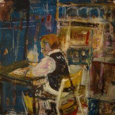 Joan Eardley Popular Artists, Great Artists, Naive, Abstract City, Glasgow School Of Art, Life Drawing, Portrait Art, Figure Painting, Artist Art