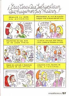 Spanish Posters, Spanish Humor, Spanish Classroom Activities, Teaching Spanish, Noisy Le Grand, Literally Me, We Are Family, Humor Grafico, Funny Cartoons