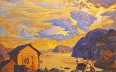 Nicholas Roerich a sélectionné des diaporamas de peintures