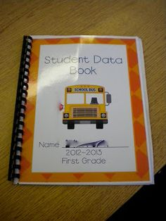 data notebooks...like.the idea of a laminated cover!