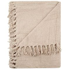 Home Collection Taupe chunky chenille throw ($75) ❤ liked on Polyvore featuring home, bed & bath, bedding, blankets, fillers, scarves, accessories, magazine, chunky throw blanket and chunky throw