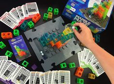 Challenge your mind and have fun with Marble Maze using our patent pending building blocks! Marble Toys, Steam Toys, Marble Maze, Logic Games, Stem Learning, 3d Puzzles, Learning Through Play, Patent Pending, Building Toys