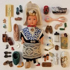 Vintage doll and riny shoe collection by @littleprairiesparrow on Instagram
