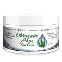 Ultimate Aloe Skin Care Cream * My Answer When Asked How I Got Beautiful Skin * 75% Organic Aloe Handles Dry Skin, Acne, Psoriasis, Ezcema & All Other Skin Conditions * Contains the Major Antioxidants * See Ingredients List * - http://essential-organic.com/ultimate-aloe-skin-care-cream-my-answer-when-asked-how-i-got-beautiful-skin-75-organic-aloe-handles-dry-skin-acne-psoriasis-ezcema-all-other-skin-conditions-contains-the-major-antioxida/