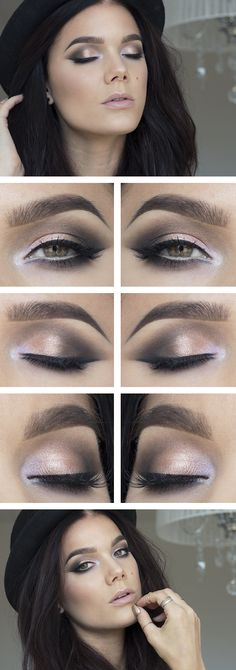 How to Chic: MAGNETIC EYE MAKE UP BY LISA HALLBERG