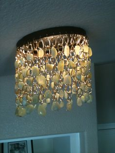 Gold and Jade Nugget.  Great Fung Shui remedy! The Recess Light Shade http://www.recesslightshade.com