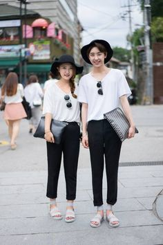 korean couple street style - Sök på Google