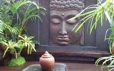 Decoración de paredes con Buda