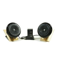 Black Ceramic Speakers V2 now featured on Fab.