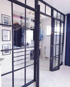Decor Interior Design, Interior Decorating, Walk In Closet, Bedroom Ideas, Living Room, Home Decor, Sitting Rooms, Dorm Ideas, Drawing Room