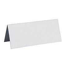 Tischkarten, 3x7 cm, weiß, 10 Stück