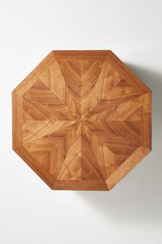 Quillen Marquetry Coffee Table | Anthropologie