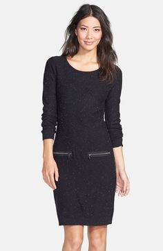 be74065388 Marc New York by Andrew Marc Zip Accent Sweater Dress available at   Nordstrom Andrew Marc