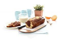 PlumCake veteado con Thermomix®, no solo es bonito, también está delicioso Plum Cake, Healthy Cooking, Panna Cotta, French Toast, Sweets, Breakfast, Ethnic Recipes, Easy, Desserts