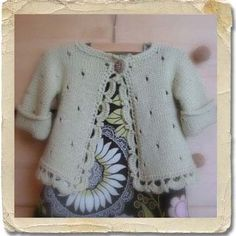 Peek A Boo Sweater - Deep South Fibers