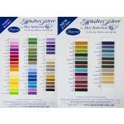 MasterPiece Cotton Thread Color Card Set