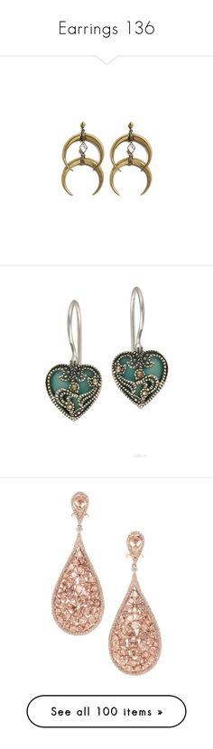"""Earrings 136"" by singlemom ❤ liked on Polyvore featuring jewelry, earrings, brincos, sterling silver earrings, sterling silver gemstone earrings, heart jewelry, sterling silver heart earrings, sterling silver jewellery, accessories and earring jewelry"