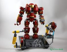 LEGO Marvel Hulkbuster: Ultron Edition 76105 [Review]