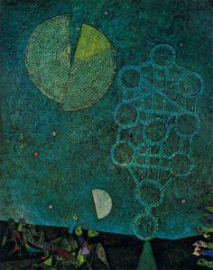 Modern painting by Mordecai Ardon, The Gates of Light, 1953 Illustrations, Illustration Art, Painting Collage, Sacred Art, Art Blog, Art Boards, Landscape Paintings, Abstract Art, Fine Art