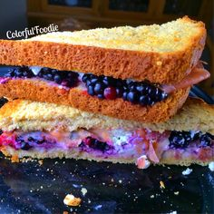 I would probably go with a whole grain bread, but WOW yummy!! I will have to try this!