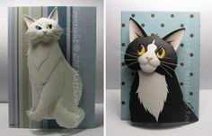 Paper Sculptures by Matthew Ross