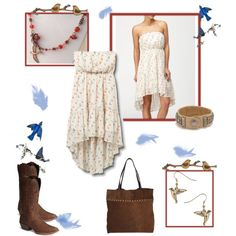 A Little Bit Country, created by lisa-belaski on Polyvore