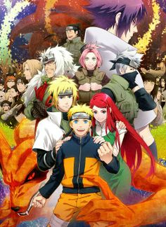 Naruto, Family, and Friends.
