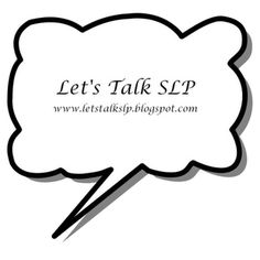 Let's Talk Speech-Language Pathology-great activities here!