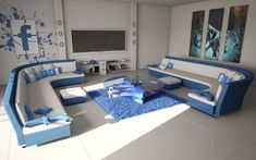 Facebook Theme Living Room