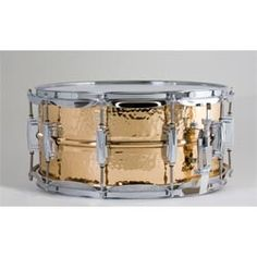 #Ludwig LB552K 6.5X14 Hammered Bronze Shell Snare Drum $698.75